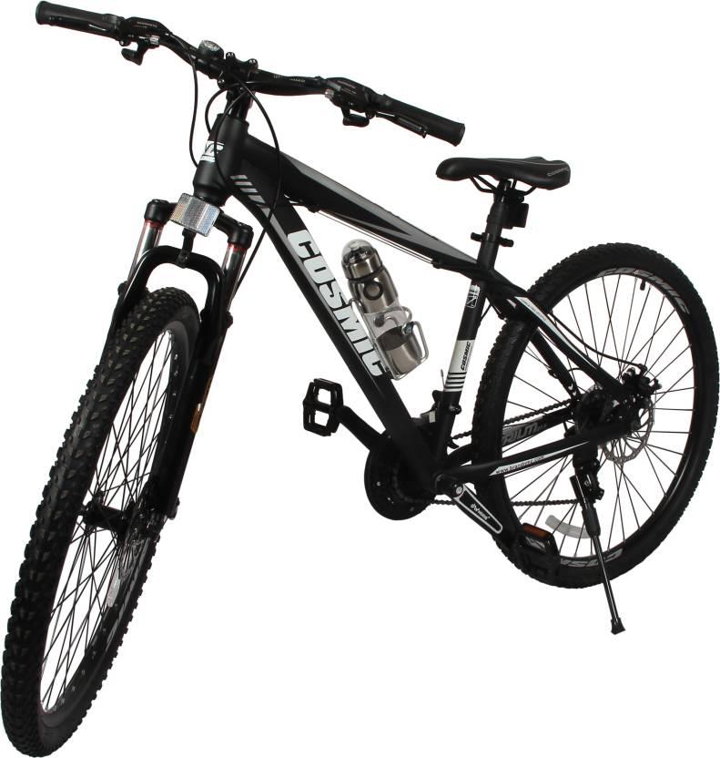 cosmic trium 27 5 inch mtb bicycle 21 speed black premium edition