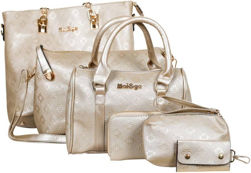 f7df873382 Buy Mei&Ge Shoulder Bag Light Gold Online @ Best Price in India ...