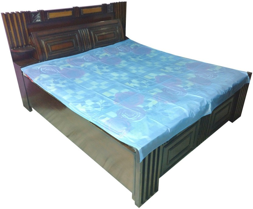 Double Bed Wetting Vinyl Plastic Ed Mattress Cover Sheet