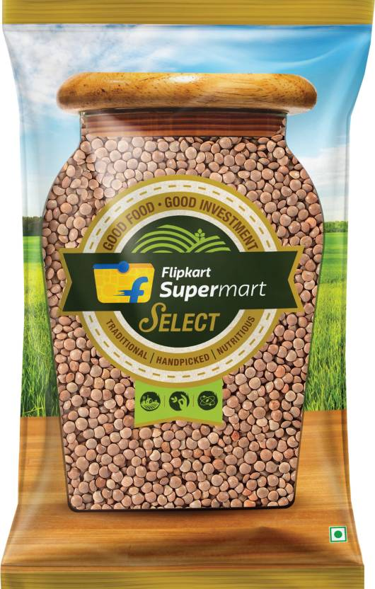 Flipkart Supermart Select Masoor Dal Black (Whole, 200 g)