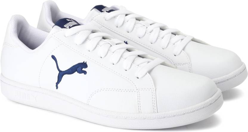 Puma Smash Cat L Sneakers For Men - Buy Puma White-Blue Depths Color ... 70c056d27