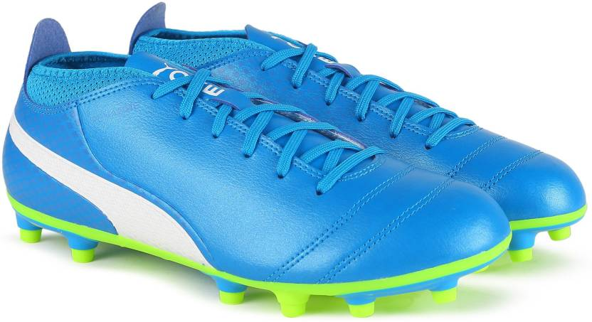 Puma ONE 17.4 FG Football Shoes For Men - Buy Atomic Blue-Puma White ... fc3944e92