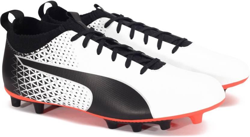 c96c176f152 Puma evoKNIT FTB AG Football Shoes For Men - Buy Puma White-Puma ...