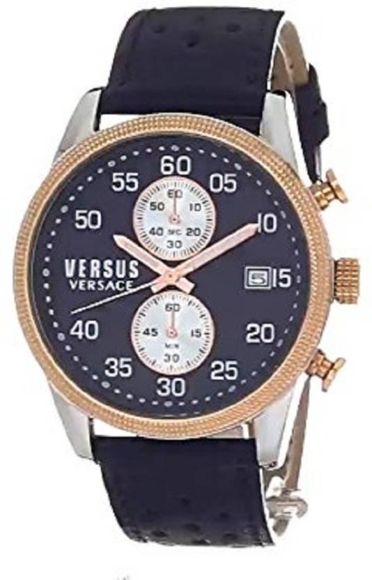 VERSUS S32050016 Versus Versace Chronograph Blue Dial Men s Watch - For Men  - Buy VERSUS S32050016 Versus Versace Chronograph Blue Dial Men s Watch -  For ... 222d1154be4fd
