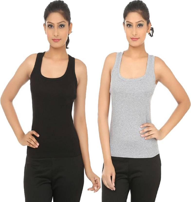 e65f7007912e69 UTOPIAN CLUB Women s Tank Top Vest - Buy UTOPIAN CLUB Women s Tank Top Vest  Online at Best Prices in India