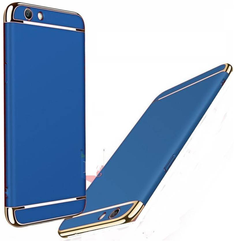 size 40 fd3e1 85827 Ifra Back Cover for 3 In One New Designed Glossy Look Back Cover For - Vivo  1606 - Blue