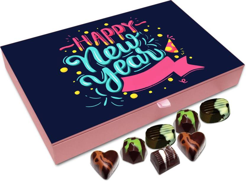 chocholik new year chocolate box happy new year to all near and dear chocolate box