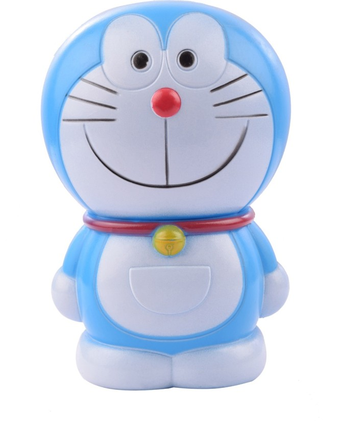 Aarushi Doreamon Blue Cute Coin Atm Piggy Bank For Boys/Girls Baby/kids Coin