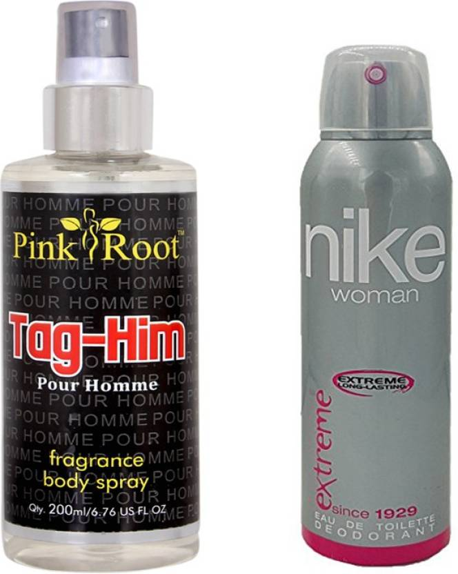 cheap price hot sale online lower price with Nike Extreme for Woman 200ml and Pink Root Tag-Him Pour ...