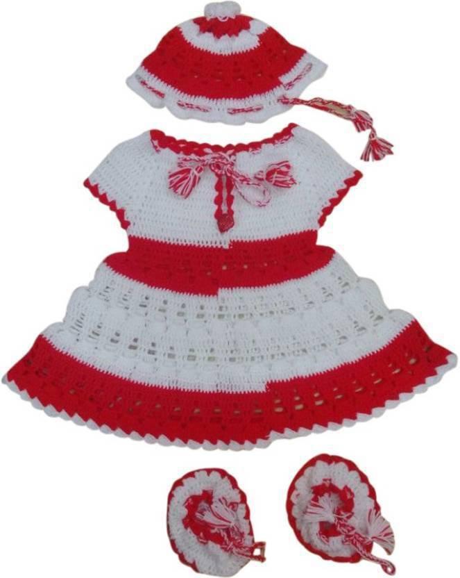 27bf2044a6c8 Haryana Craft Baby Boys   Baby Girls Party(Festive) Sweater Dress ...