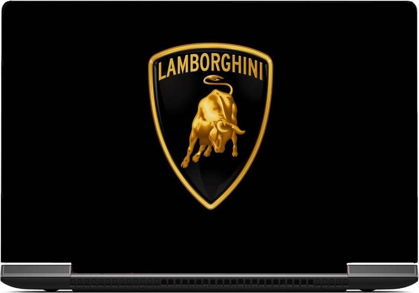 Gallery 83 Lamborghini Bull Laptop Skin Sticker 15 6 Inch Dell