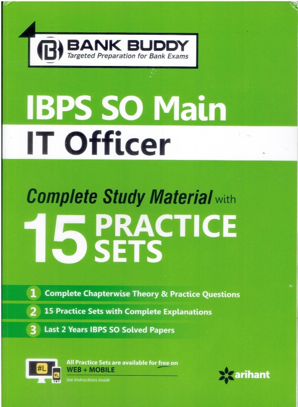 Ibps It Officer Scale 1 Study Material Pdf