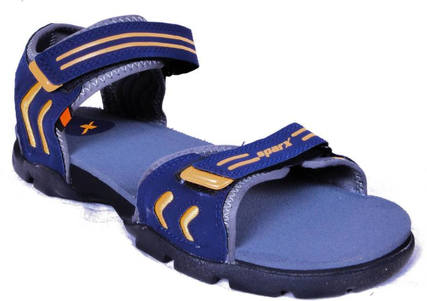 0afcbf0907fe84 Sparx Men Blue Grey Sports Sandals - Buy Blue Grey Color Sparx Men Blue  Grey Sports Sandals Online at Best Price - Shop Online for Footwears in  India ...