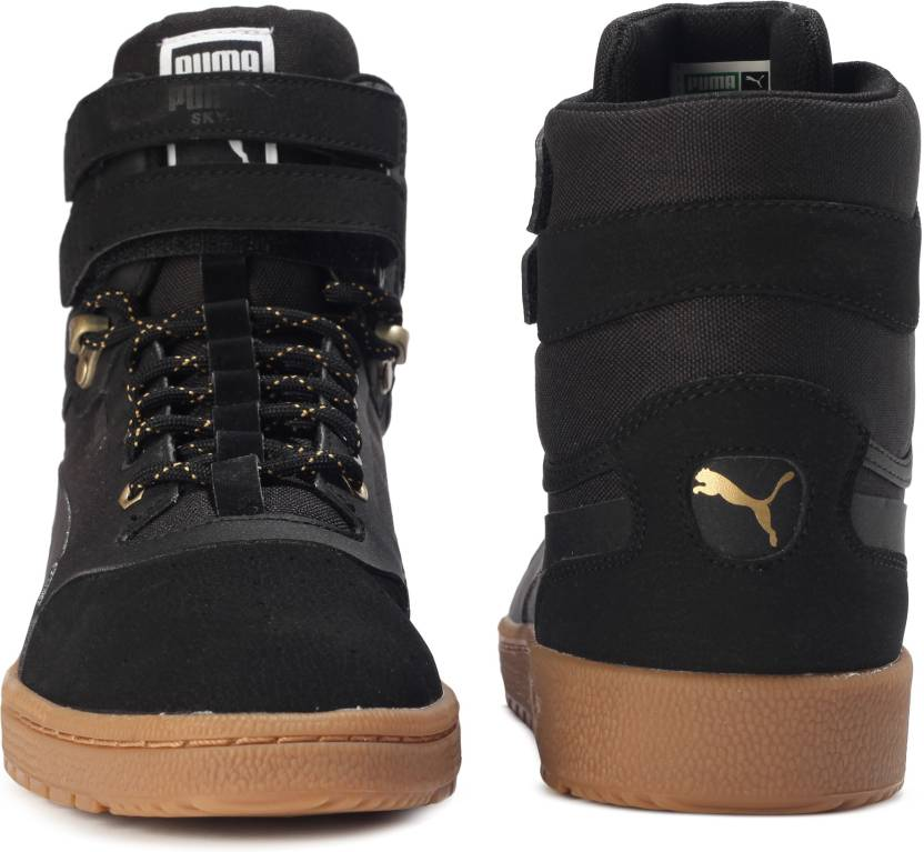 732d2229f429 Puma Sky II Hi Weatherproof Sneakers For Men - Buy Puma Black-Puma ...