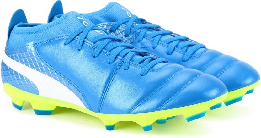 e0e4720b5 Puma ONE 17.2 FG Football Shoes For Men - Buy Atomic Blue-Puma White ...