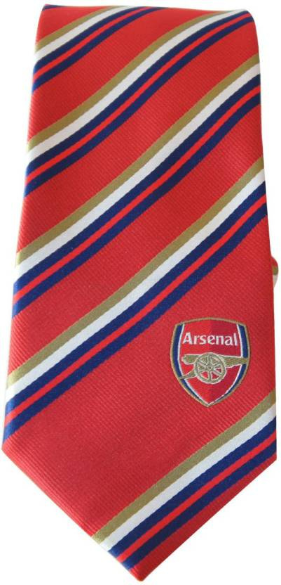 9aef3ca446a Arsenal FC Embroidered Tie - Buy Arsenal FC Embroidered Tie Online at Best  Prices in India