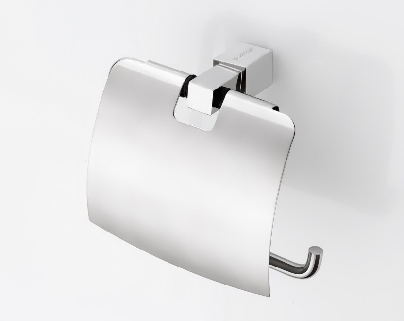 Toilet Paper Holder : Anikaa sma l buecon toilet tissue paper holder with lid
