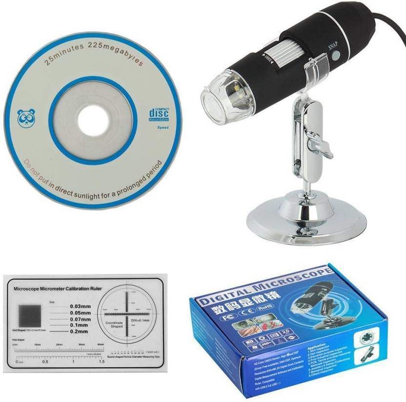 TARGETPLUS Digital Microscope 500X 8LED USB Cable Price in