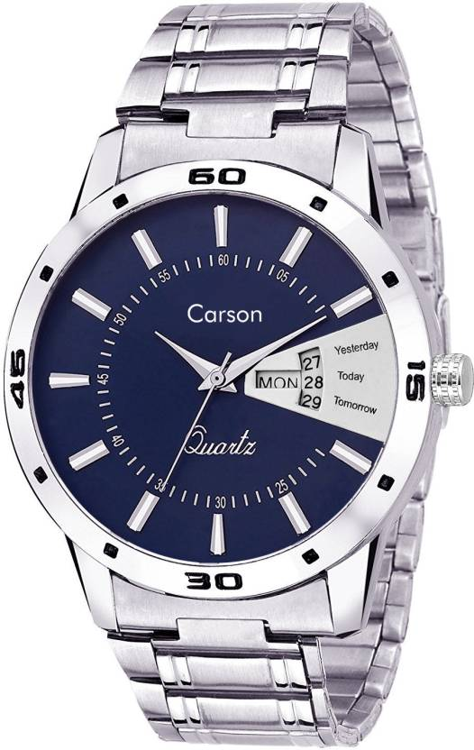 Carson CR7106 Dynamo Watch - For Men