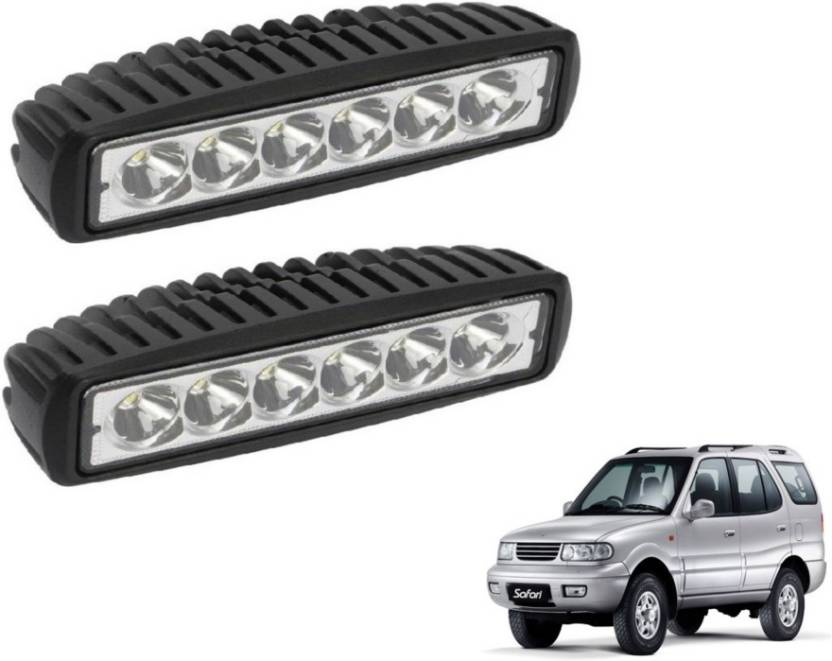 9fab4d7070cf Mockhe LED Fog Light For Tata Safari Dicor Price in India - Buy Mockhe LED  Fog Light For Tata Safari Dicor online at Flipkart.com