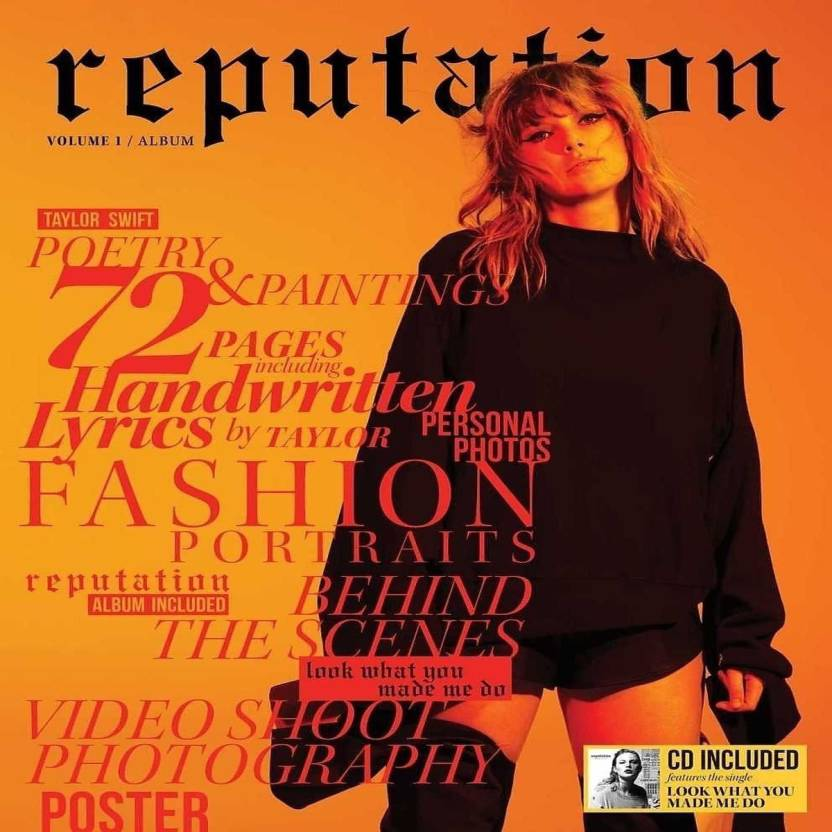 8a6348145 REPUTATION DELUXE VOLUME 1 Audio CD Limited Edition (English - TAYLOR SWIFT)