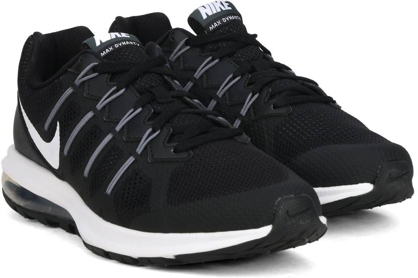 7e3e6fa11f Nike AIR MAX DYNASTY MSL Running Shoes For Men - Buy BLACK/WHITE ...