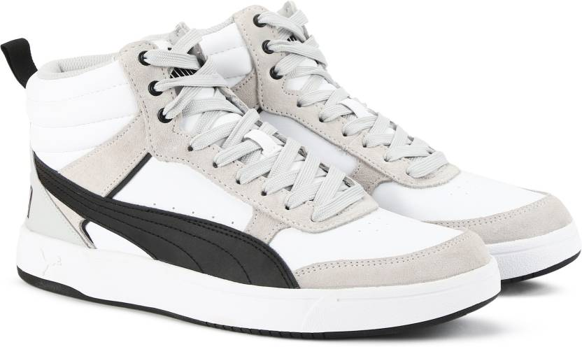 daeeff0d9fef Puma Rebound Street v2 Sneakers For Men - Buy Puma White-Puma Black ...