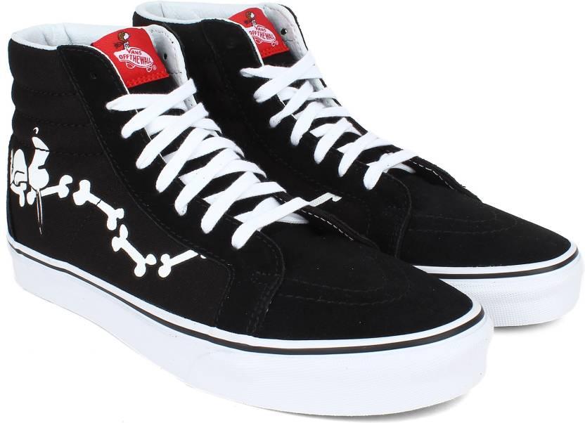 02cc52d03cd Vans SK8-Hi Reissue Sneakers For Men - Buy Black Color Vans SK8-Hi ...