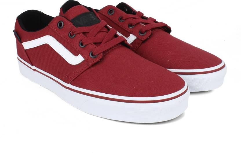 74ef961b8664ea Vans Chapman Stripe Sneakers For Men - Buy red Color Vans Chapman ...
