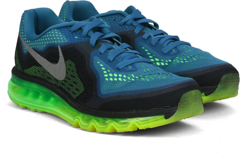 sports shoes 2c939 109d7 Nike AIR MAX 2014 Running Shoes For Men (Blue)