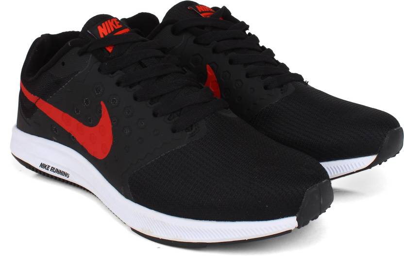 23be29b022 Nike DOWNSHIFTER Running Shoes For Men - Buy Black/Red Color Nike ...