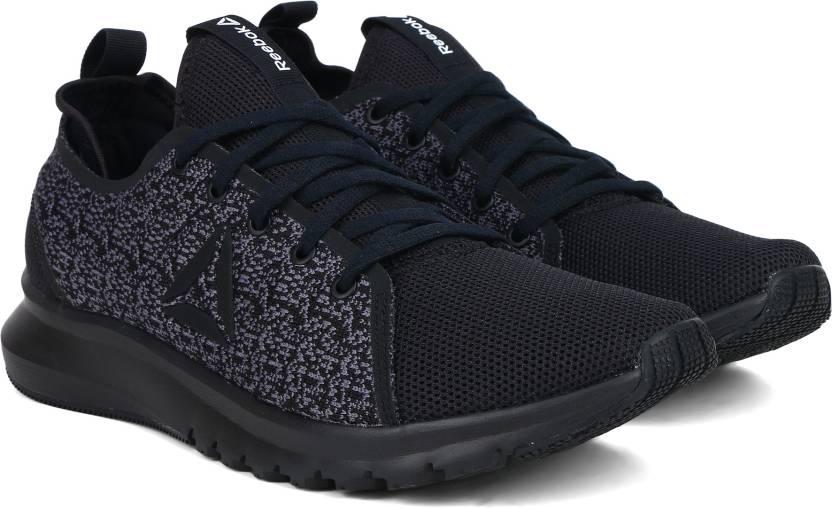 d04d94e34c47 REEBOK PLUS LITE TI Running Shoes For Men (Black)