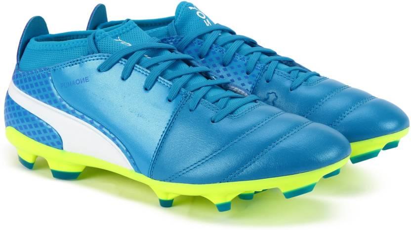 d768c3ec1 Puma ONE 17.3 FG Football Shoes For Men - Buy Atomic Blue-Puma White ...