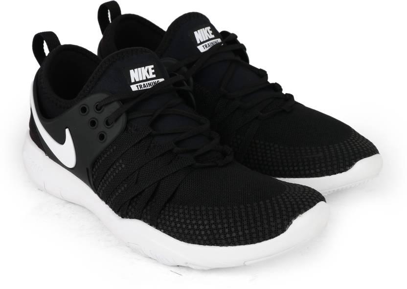 3c9e956e8ff Nike WMNS NIKE FREE TR 7 Gym   Training Shoes For Women - Buy BLACK ...