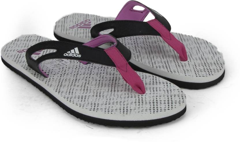 b492afd0784d6a ADIDAS OZOR II W Slippers - Buy WHITE LUCPNK BLACK Color ADIDAS OZOR II W  Slippers Online at Best Price - Shop Online for Footwears in India