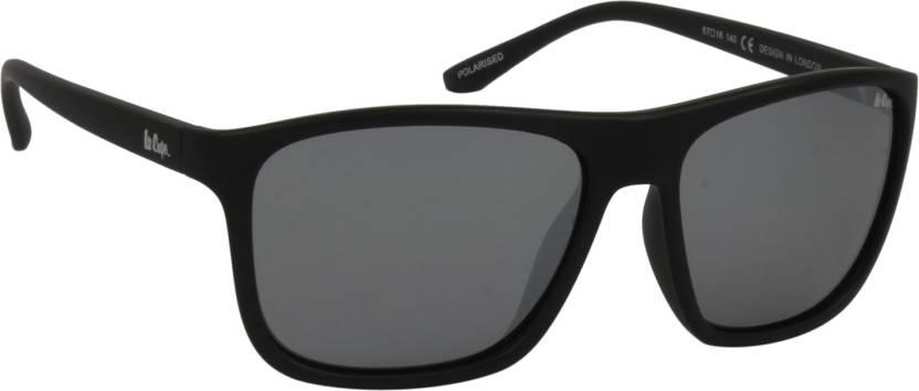 adb812537e Buy Lee Cooper Wayfarer Sunglasses Black For Men Online   Best ...