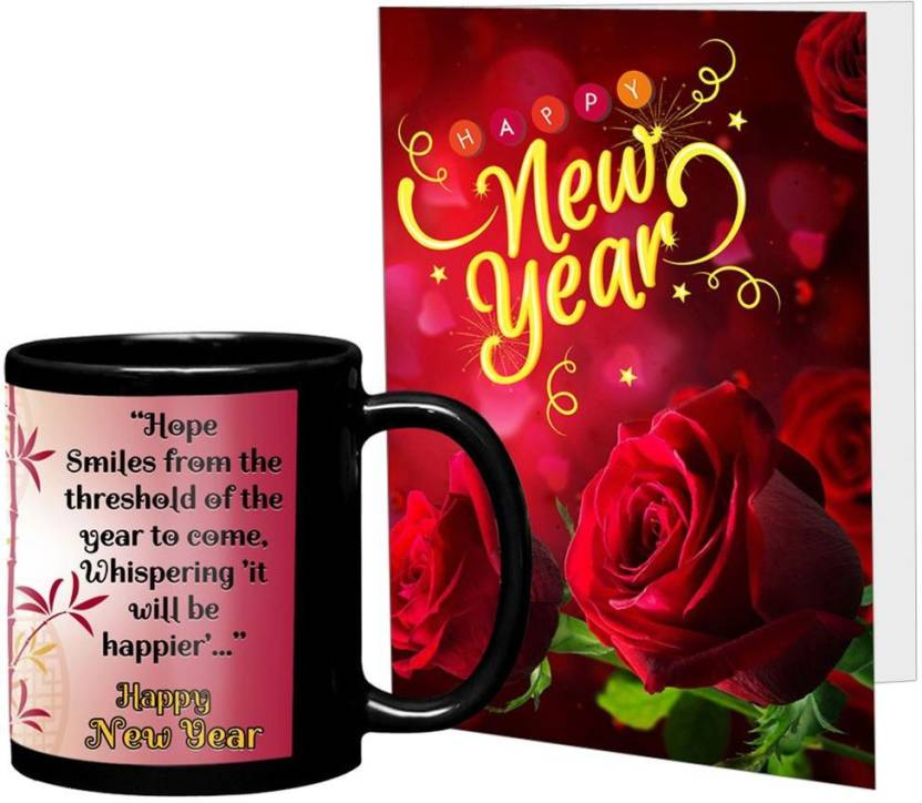 lof new year gifts for friend smile happiness wishing gift for girlfriend sister boyfriend white greeting