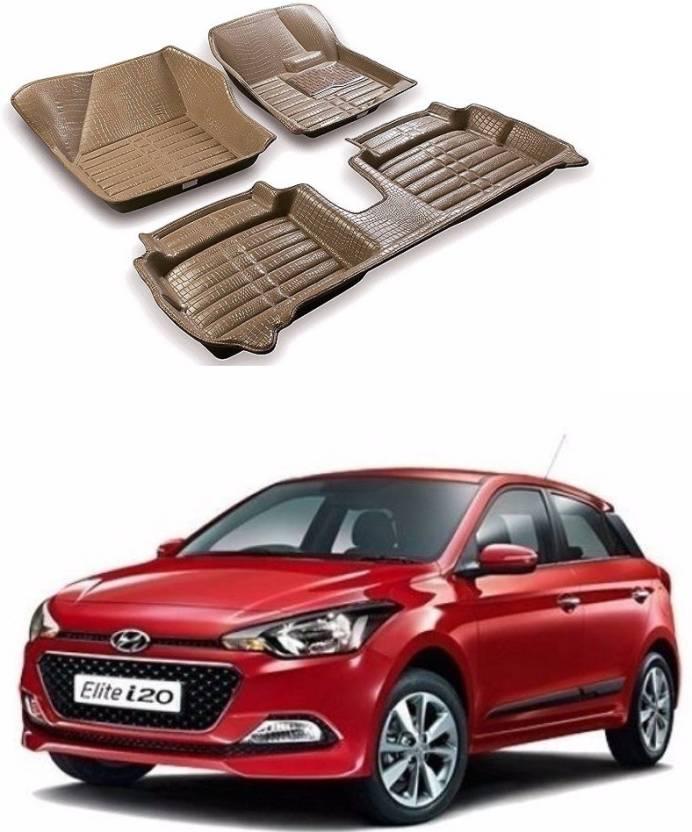 Auto Garh Plastic 5D Mat For Hyundai i20