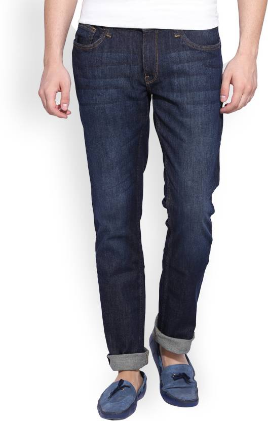 1fb7b0ea18e Regular Men's Jeans - Buy Navy ARROW BLUE JEANS CO. Regular Men's Jeans  Online at Best Prices in India   Flipkart.com