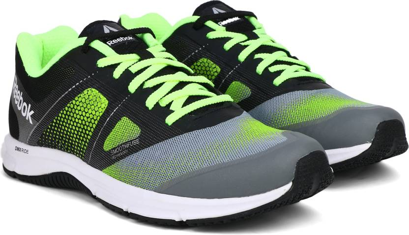 369451e3c178 REEBOK QUICK WIN Running Shoes For Men - Buy GREY FLASH SLVR BLK WHT ...