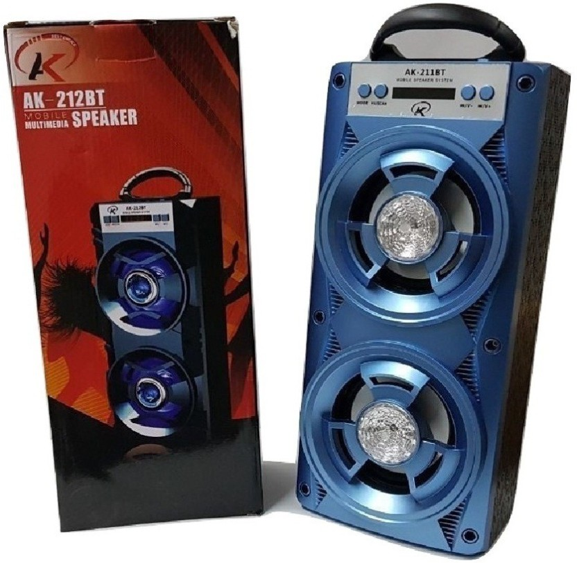 AM//FM Bluetooth Speaker Portable Outdoor Wireless Speakers with USB//TF//Aux//Radio