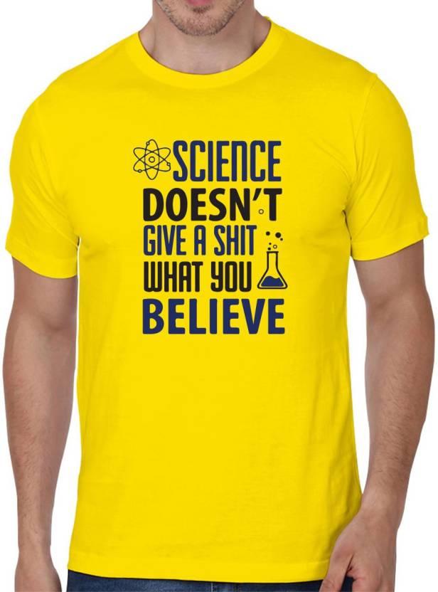 4d462ad3c65 Status Apparels Printed Men's Round Neck Yellow T-Shirt - Buy Status  Apparels Printed Men's Round Neck Yellow T-Shirt Online at Best Prices in  India ...