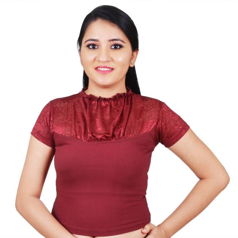 397871a0d19d4f Salwar Studio Fashion Neck Women s Stitched Blouse - Buy Salwar Studio  Fashion Neck Women s Stitched Blouse Online at Best Prices in India