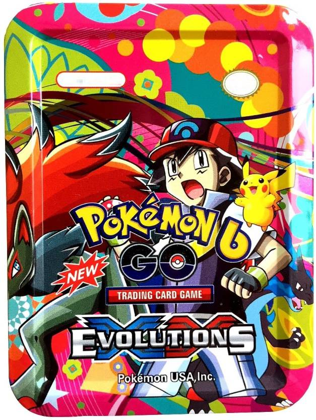 Assemble Pokemon GO EVOLUTION Trading card Game With Metal