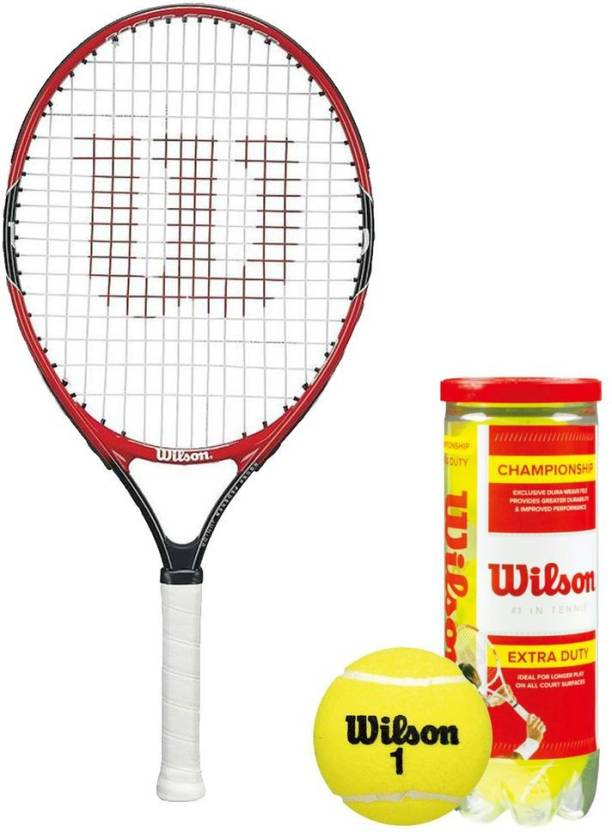 Wilson Racquet and Ball Tennis Kit Tennis Kit - Buy Wilson Racquet and Ball Tennis  Kit Tennis Kit Online at Best Prices in India - Tennis  e40381ecf1