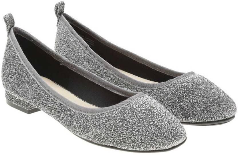 da4b594e9f98 ALDO Women Silver Bellies - Buy ALDO Women Silver Bellies Online at Best  Price - Shop Online for Footwears in India