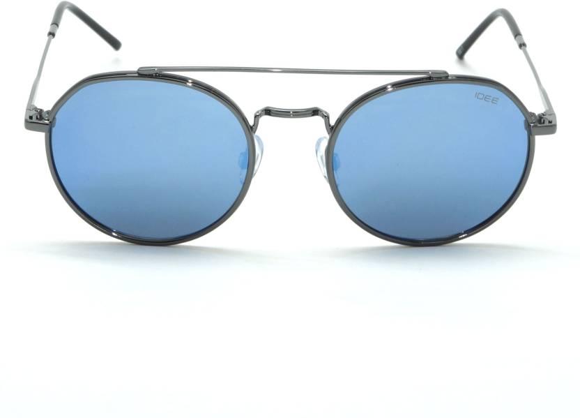 ea7452ee4b Buy IDEE Round Sunglasses Blue For Men & Women Online @ Best Prices ...