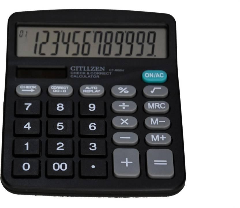 Citizen 800N Financial Calculator