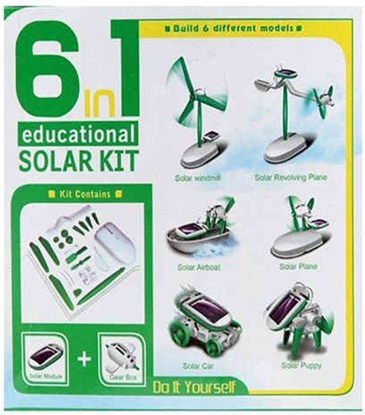 China SKU11111 Solar and Fuel Cell Electronic Hobby Kit