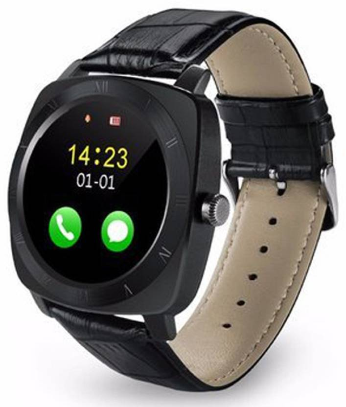 Piqancy X3 Bluetooth Smartwatch For All 3G , 4G Phone With Camera and Sim  Card Support With Apps like Facebook and WhatsApp Touch Screen  Multilanguage